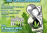 "Hemp Parade 2014 ""Green light for legalization"""