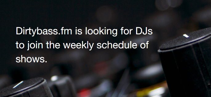 New DJs wanted