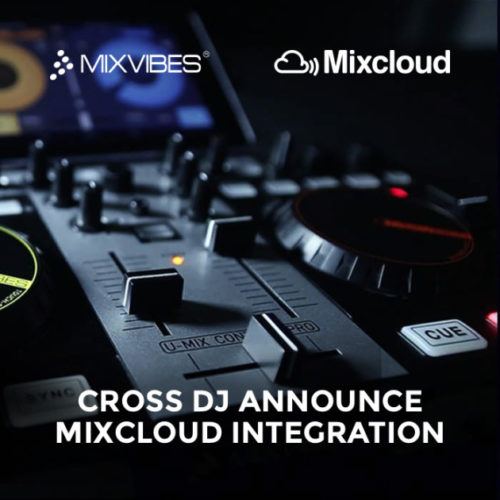 Cross DJ Mixcloud Integration