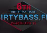 DirtyBass 6th Birthday